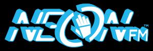 Neon FM logo (trans, drop BG)